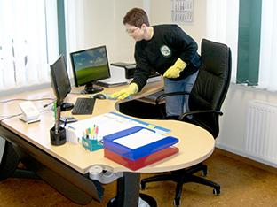 Buro Und Unterhaltsreinigung Saubere Arbeit Durch Hygiene Am